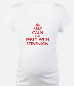 Keep calm and Party with Stevenson Shirt