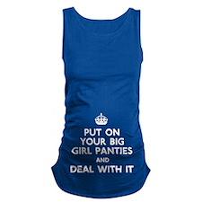 Big Girl Maternity Tank Top
