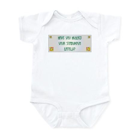 Hugged Staby Infant Bodysuit
