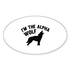 I'm The Alpha Wolf Decal