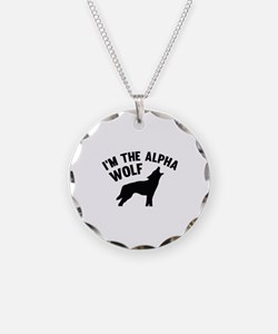 I'm The Alpha Wolf Necklace