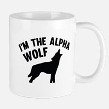 I'm The Alpha Wolf Mug