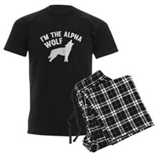 I'm The Alpha Wolf Pajamas