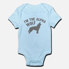 I'm The Alpha Wolf Infant Bodysuit
