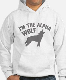 I'm The Alpha Wolf Hoodie