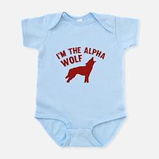 I'm The Alpha Wolf Infant Bodysuit
