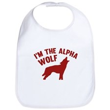 I'm The Alpha Wolf Bib