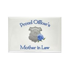 Officer's Mother in Law Rectangle Magnet
