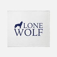 Lone Wolf Stadium Blanket