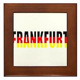 Frankfurt button Framed Tiles