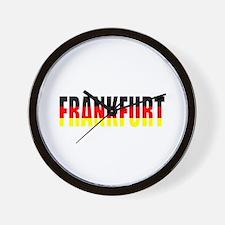Frankfurt, Germany Wall Clock