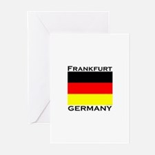 Frankfurt, Germany Greeting Cards (Pk of 10)