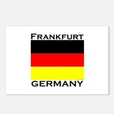 Frankfurt, Germany Postcards (Package of 8)