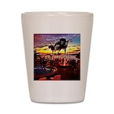 Sunset Grill Key West Shot Glass