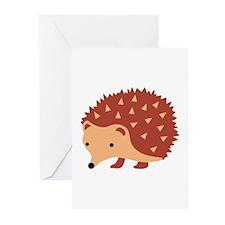 Hedgehog Animal Greeting Cards