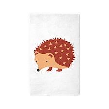 Hedgehog Animal 3'x5' Area Rug