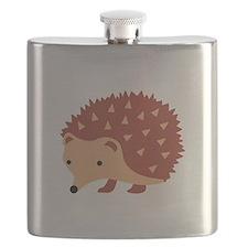 Hedgehog Animal Flask
