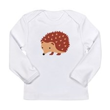 Hedgehog Animal Long Sleeve T-Shirt