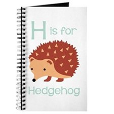 H Is For Hedgehog Journal