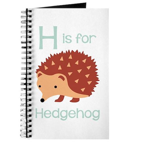 H Is For Hedgehog Journal