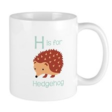 H Is For Hedgehog Mugs