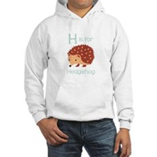 H Is For Hedgehog Hoodie