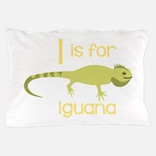I Is For Iguana Pillow Case