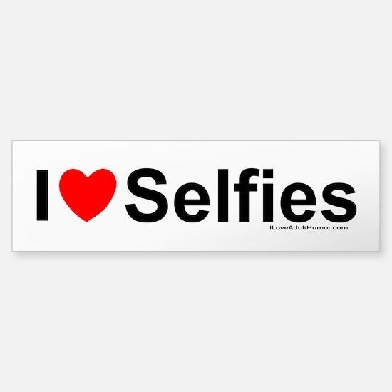 Selfies Sticker (Bumper)
