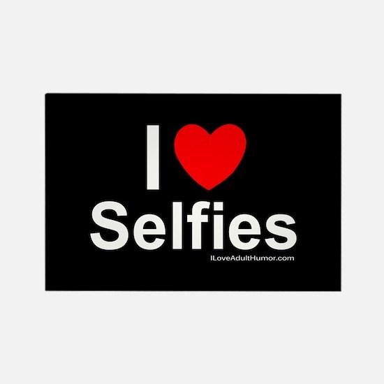 Selfies Rectangle Magnet