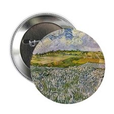 "Wheatfields 2.25"" Button"