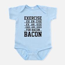 Exercise Bacon Infant Bodysuit