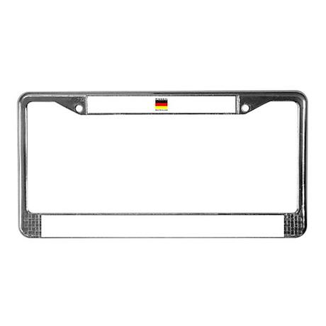 Essen, Deutschland License Plate Frame