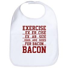 Exercise Bacon Bib