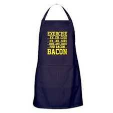 Exercise Bacon Apron (dark)