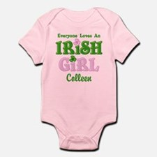 Personalized Loves An Irish Girl Infant Bodysuit