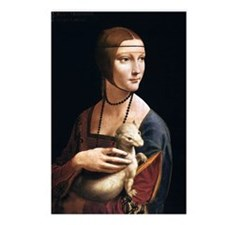 Lady with an Ermine Postcards (Package of 8)