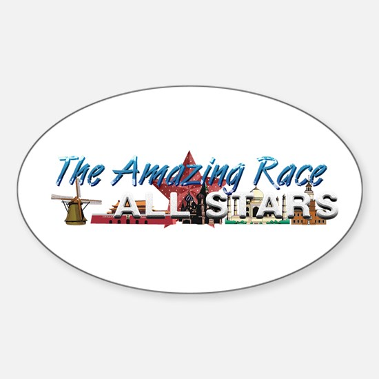 The Amazing Race Sticker (Oval)