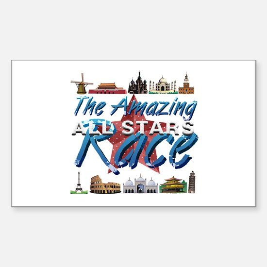 The Amazing Race Sticker (Rectangle)
