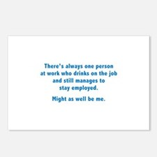 Might As Well Be Me Postcards (Package of 8)