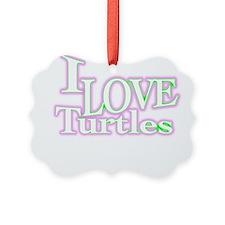 love turtles Ornament