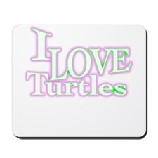 love turtles Mousepad