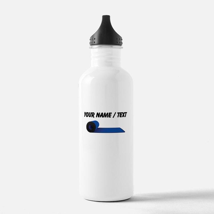 Custom Yoga Mat Water Bottle