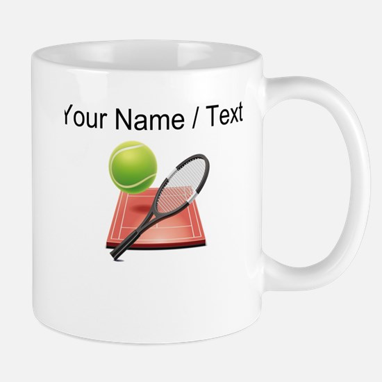 Custom Tennis Icon Mugs