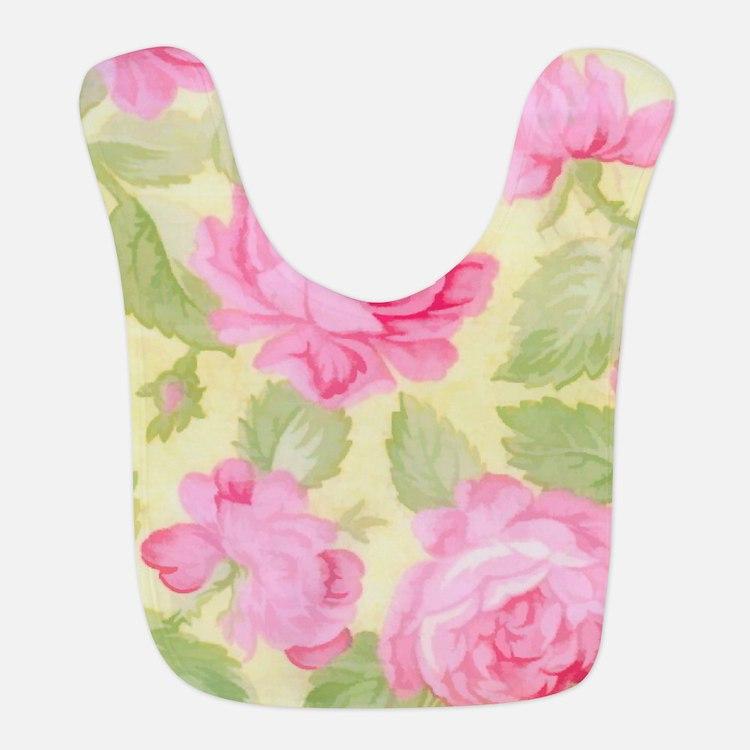 Pink Roses Bib