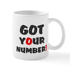 Got Your Number Mug
