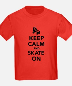 Keep calm and Skate on T