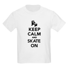 Keep calm and Skate on T-Shirt