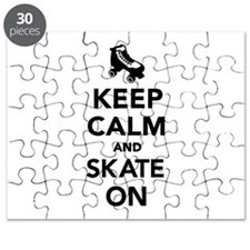 Keep calm and Skate on Puzzle