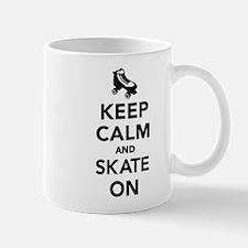 Keep calm and Skate on Mug