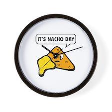 It's Nacho Day Wall Clock